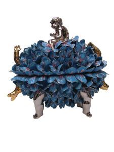 Blaue cherub bonbon