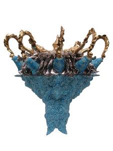 blauwe kroon. a